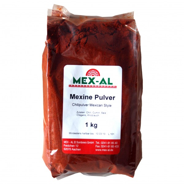 MEXINE, Chilipulver 1 kg