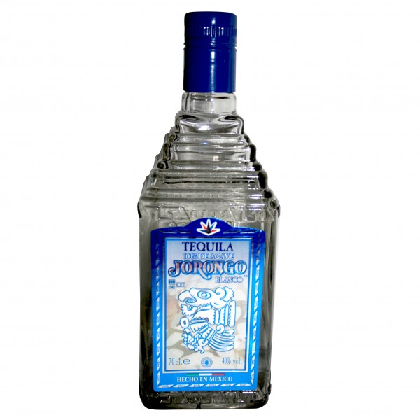 TEQUILA JORONGO BLANCO 700ml 40%Vol 100%Agave Flasche