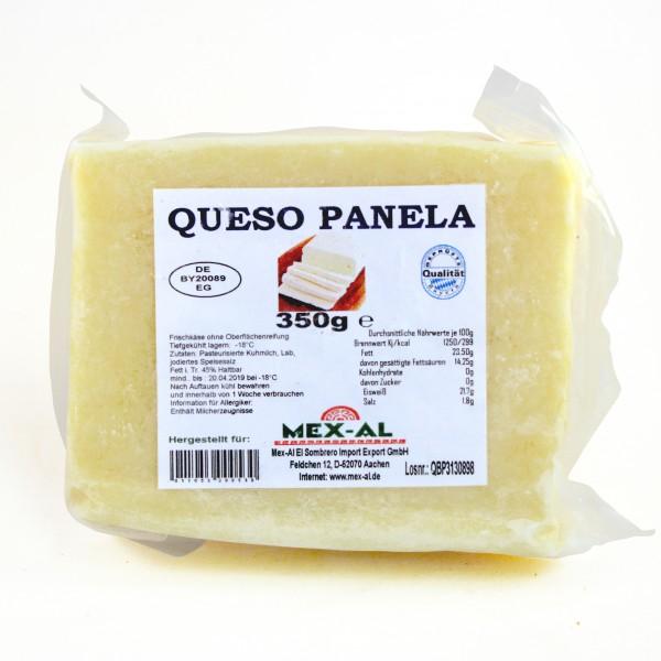 QUESO BLANCO PANELA, Grillkäse im Block, 350g Beutel, tiefgefroren (-18°)