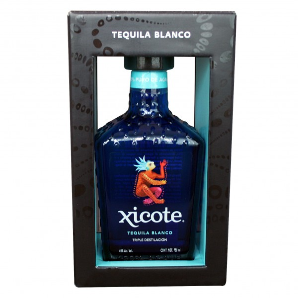 TEQUILA XICOTE BLANCO 700ml 40%Vol 100%Agave Flasche