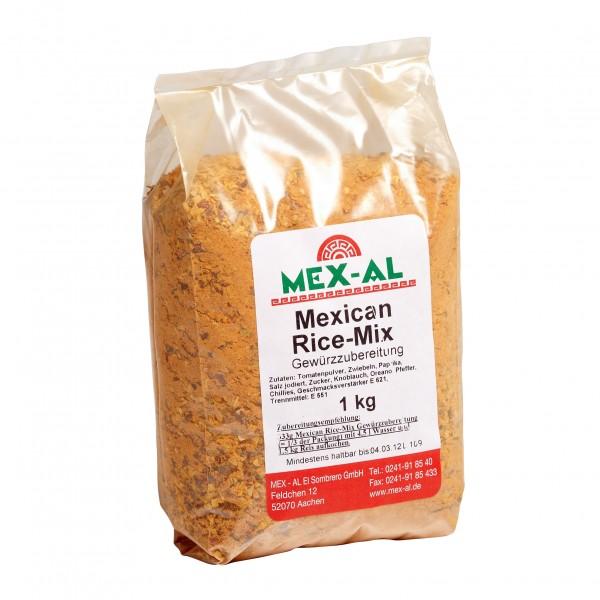 RED MEXICAN RICE MIX 1kg Beutel Würzmischung für mexikanischen Reis