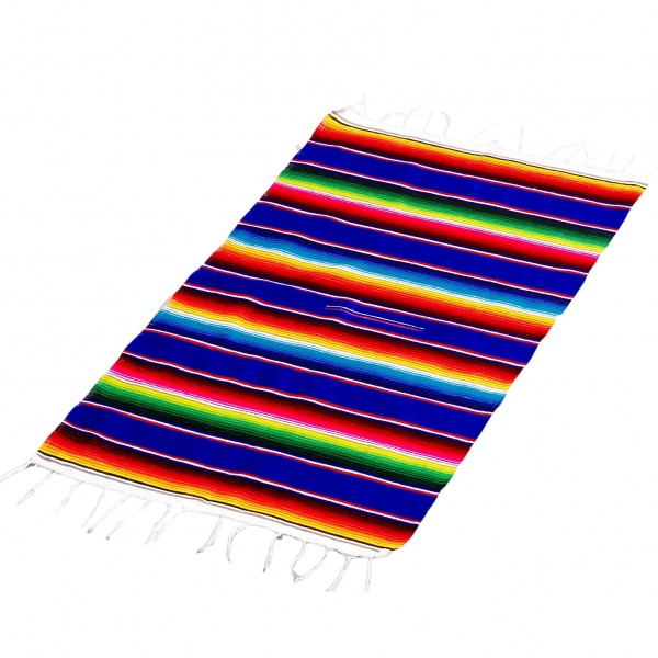 SARAPE MEDIANO Decke aus Acryl 75% und Baumwolle 25% ca 1x0,5m