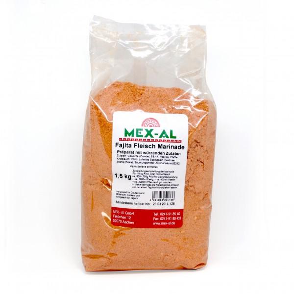 FAJITA-FLEISCH-MARINADE 1,5kg Beutel