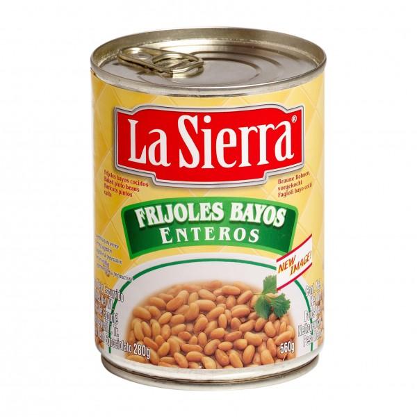 FRIJOLES ENTEROS BAYOS ganze Pintobohnen 560g Dose,