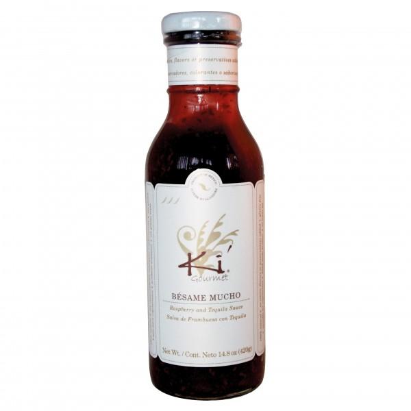 KI SALSA BESAME MUCHO, Himbeer-Tequila Sauce, 420g Glas