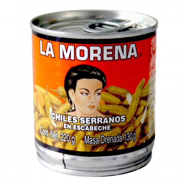 CHILES SERRANOS en escabeche 210g Dose
