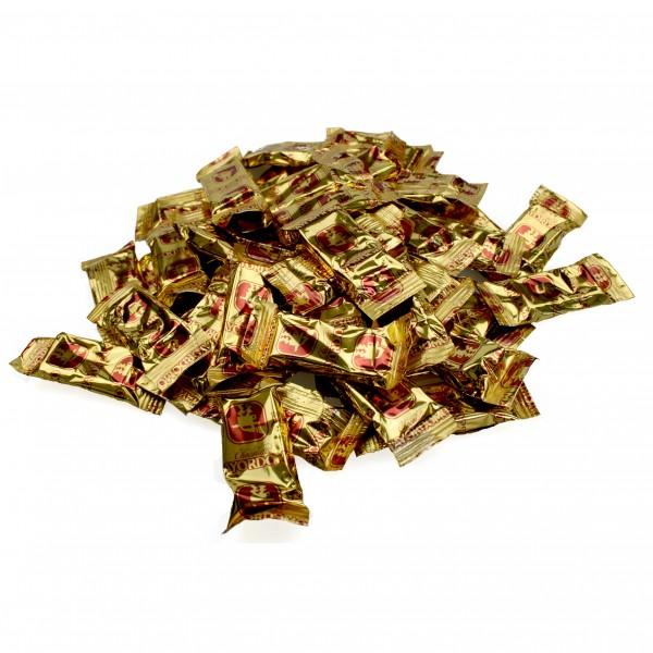 MINI CHOCOLATE de bienvenida 1kg bag, 200 Mini chocolatebars with 5g each