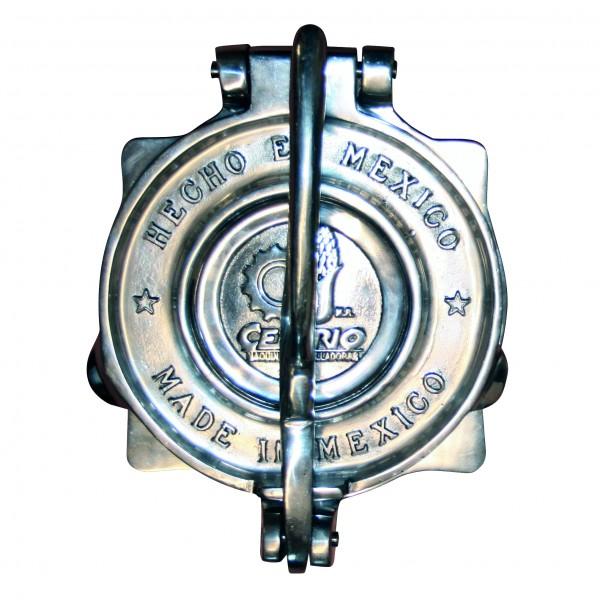 TORTILLAPRESSE XXL aus Aluminium, poliert Ø= ca.22,5cm