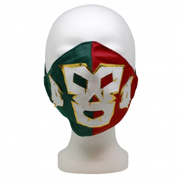 Masque pour la bouche et le nez, style Luchador, formes et couleurs diverses