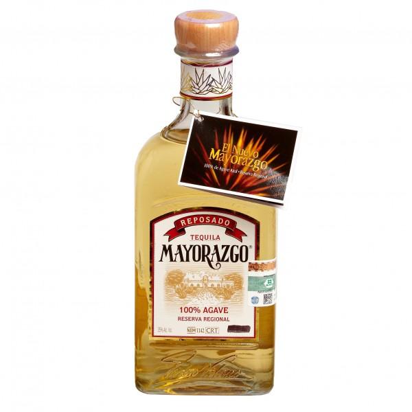 TEQUILA MAYORAZGO reposado 700ml 35%Vol 100%AGAVE Flasche