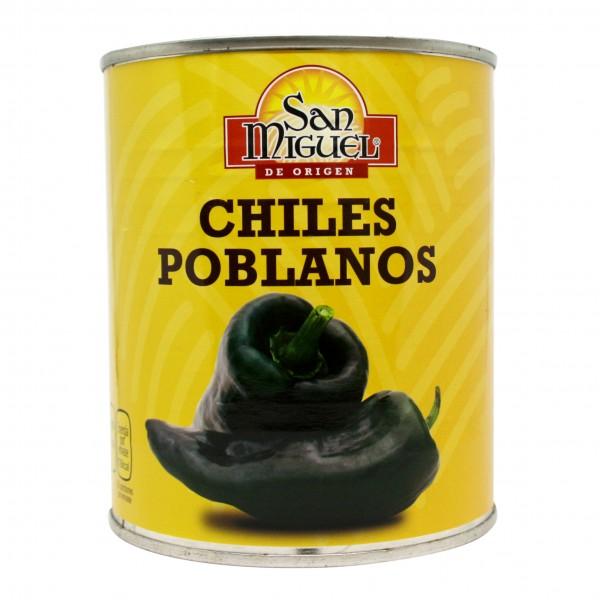 POBLANO CHILES zum Füllen, 780g Dose