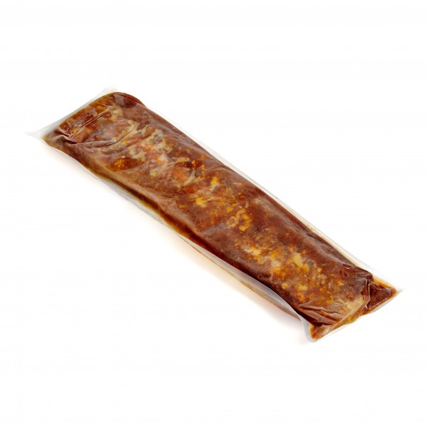SPARE RIBS pre-cooked in Smoky BBQ Sauce, vacuum packed