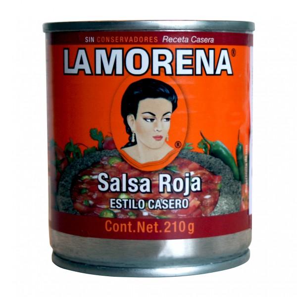 SALSA CASERA ROJA 210g Dose