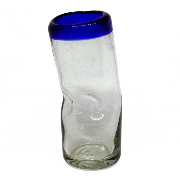 """VASO BORRACHO verre """"ivre"""" pour Longdrinks, fai á la main, Ø=ca7cm h=ca19cm"""