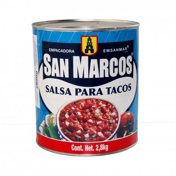 SALSA para TACOS 2,8kg Dose