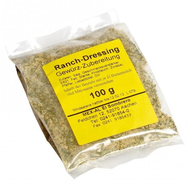 RANCH DRESSING MIX Gewürzzubereitung für Ranch Dressing 100g Beutel