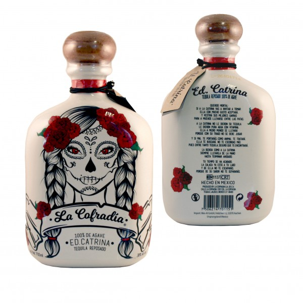 TEQUILA CATRINA REPOSADO 100%Agave 38%Vol 700ml Flasche