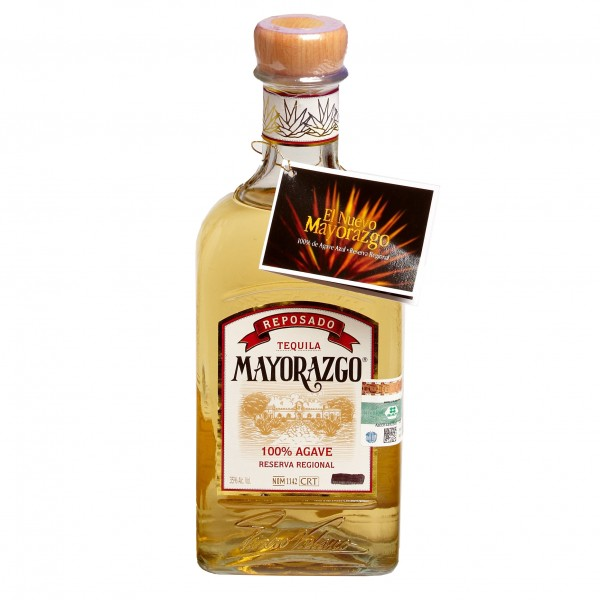 TEQUILA MAYORAZGO reposado 700ml 35%Vol 100%AGAVE Flasche