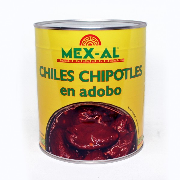 CHILES CHIPOTLES, ganz 2,8 kg Dose