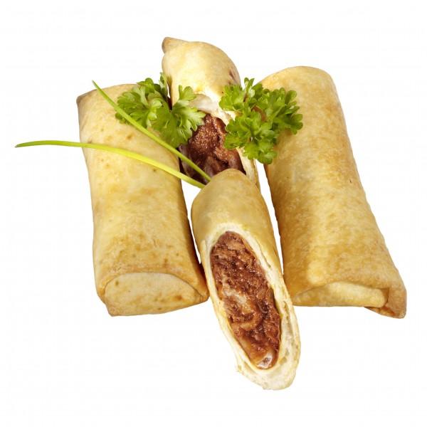 CHILIBURRITO, Burrito mit ChiliconCarnefüllung 40Stück, 3,2kg Karton