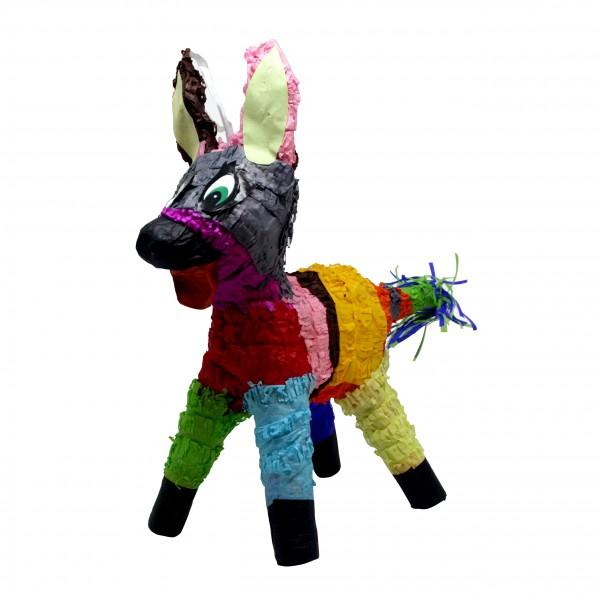 Spielzeug PINATA aus Pappmache NICHT ZUM FÜLLEN, Nur Deko ca. 12x5x21cm