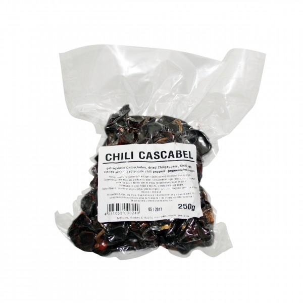 CHILES CASCABEL GANZ, trocken, 250g Beutel