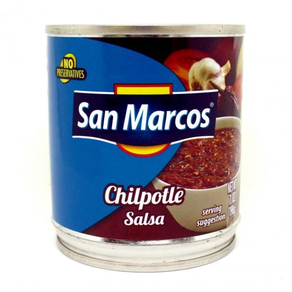 SALSA PICANTE CHIPOTLE San Marcos 198g Dose