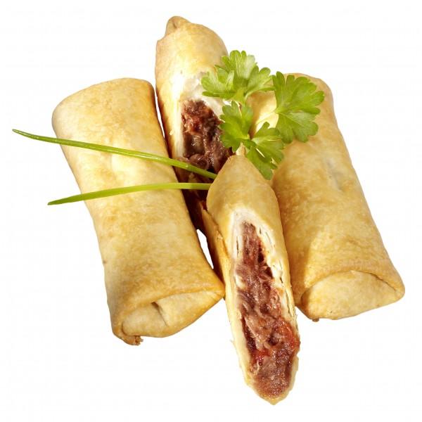4 WESTERN BURRITOS, mit rauchiger Rindfleischfüllung 320g Beutel
