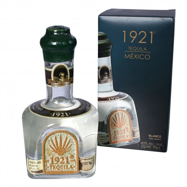 TEQUILA 1921 BLANCO 700ml 40%Vol 100%Agave Flasche