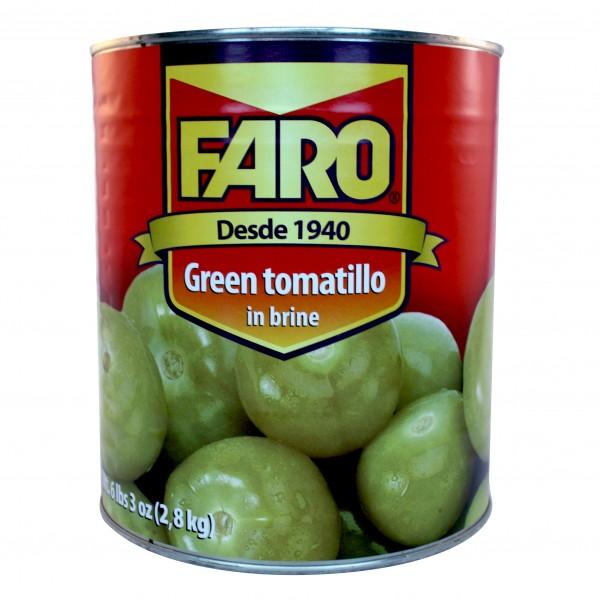 WHOLE TOMATILLO (FARO) ganze grüne Tomaten, 2,8kg Dose