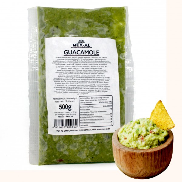 GUACAMOLE 500g Beutel
