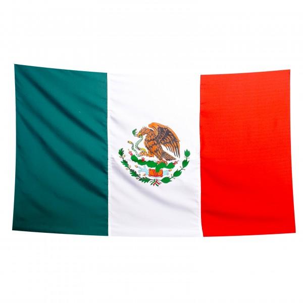 MEXICO-FAHNE aus Polyester 90x150cm