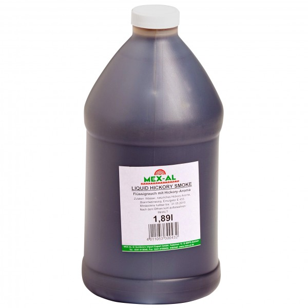 LIQUID HICKORY SMOKE 1,89l Kanister (Vegan)