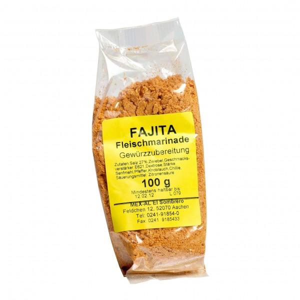 FAJITA-Fleischmarinade 100g Beutel