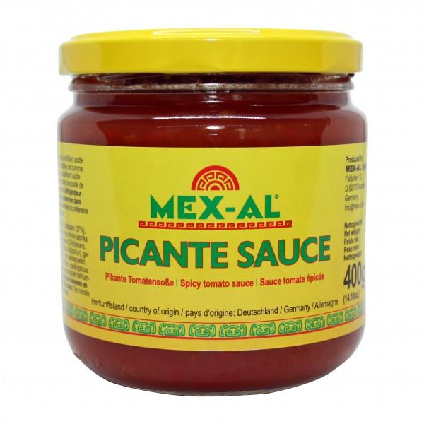 PICANTE SAUCE MEX-AL 400g Glas