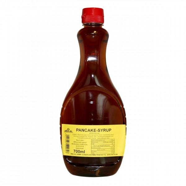 PANCAKE-SYRUP mit Ahornaroma 700ml Plastikflasche