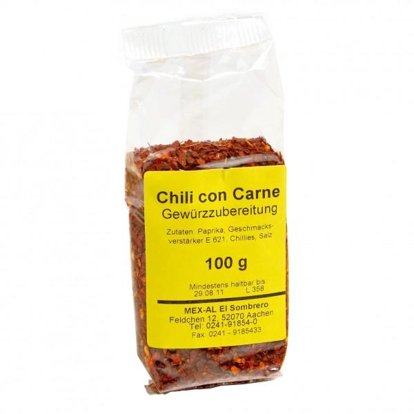CHILI CON CARNE GEWÜRZ Würzmischung für ChiliconCarne 100g Beutel