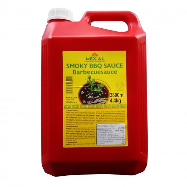 SMOKY BBQ-SAUCE 4,4l Kanister