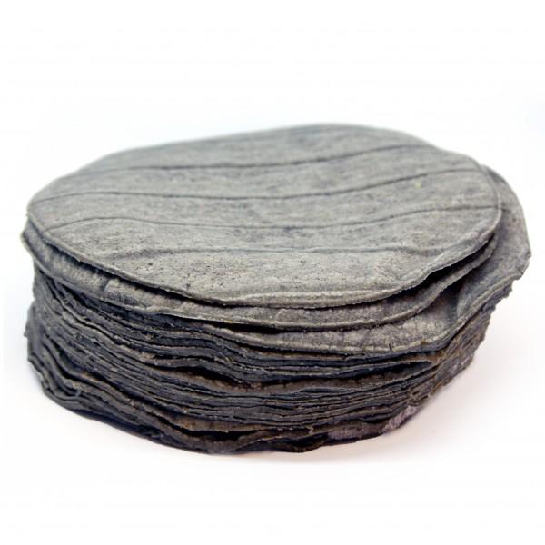 """EH - BLAUE MAISTORTILLAS 6"""", Ø ca15cm, 22g, 24 Stück pro Paket, 528 g"""