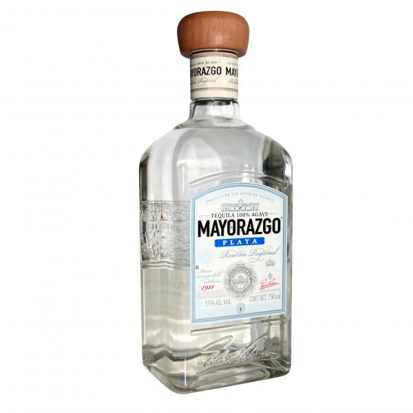 TEQUILA MAYORAZGO blanco 700ml 35%Vol 100%AGAVE Flasche