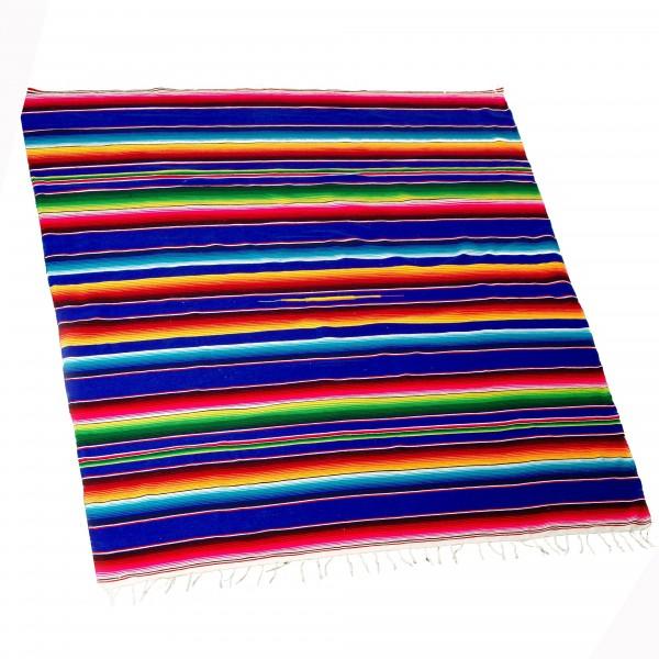 SARAPE GRANDE Decke aus Acryl 75% und Baumwolle 25% ca 2,10m x ca 1,40m