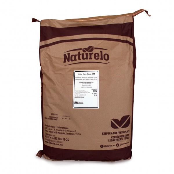 Naturelo MASA HARINA MAISMEHL,WEISS für Tortillas 20kg Sack (GMO-FREE)