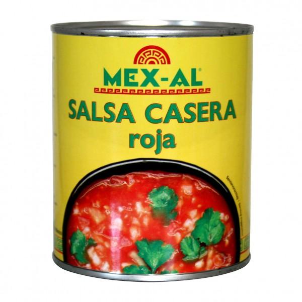 SALSA CASERA ROJA MEX-AL 2,8 kg Dose