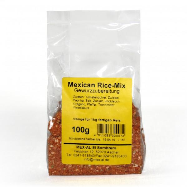 RED MEXICAN RICE MIX 100g Würzmischung für mexikanischen Reis, Beutel