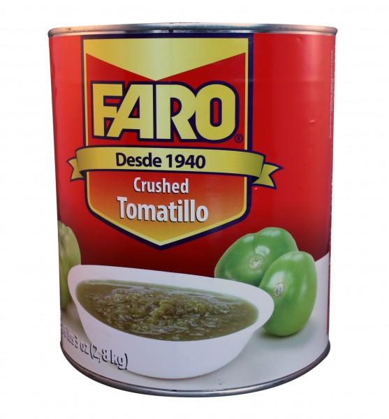 TOMATILLO CRUSHED passierte grüne Tomaten, 2,8kg Dose
